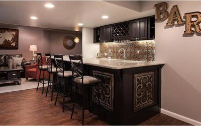 Creating a Home Bar Worth Hanging Out In