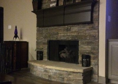syle home makeovers does fireplace updates